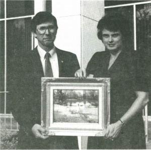 Bill & Pat Bradley-1986