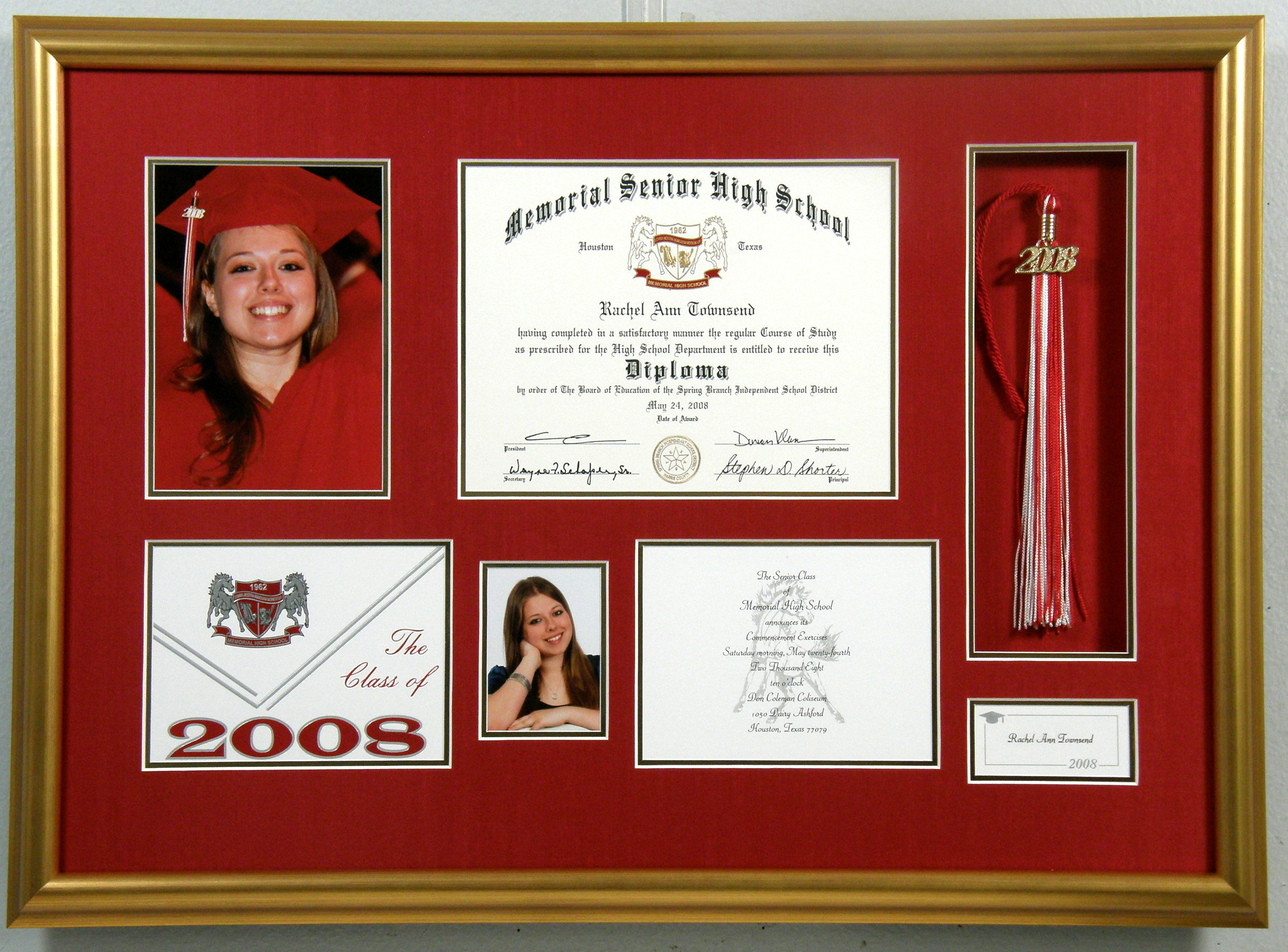 Frame Your Diploma! | Bradley\'s Art and Frame