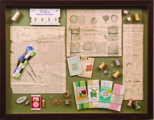 Sewing Collection Shadowbox