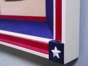 (Side) American Flag, C. 1918
