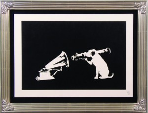 Signed Print by Banksy
